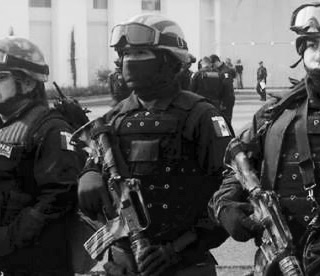 FUERTE OPERATIVO POLICIACO EN EL EX HOSPITAL GENERAL
