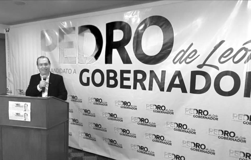 CEN DEL PRD: PEDRO DE LEÓN ES EL CANDIDATO