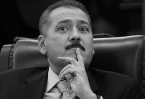 MƒXICO, D.F., 18FEBRERO2010.- Manlio Fabio Beltrones, coordinador de los senadores tricolores, en la sesi—n de la C‡mara Alta. FOTO: MOISƒS PABLO/CUARTOSCURO.COM