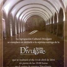 MAÑANA JUEVES, PRESENTACIÓN DE LA REVISTA DIVULGARE