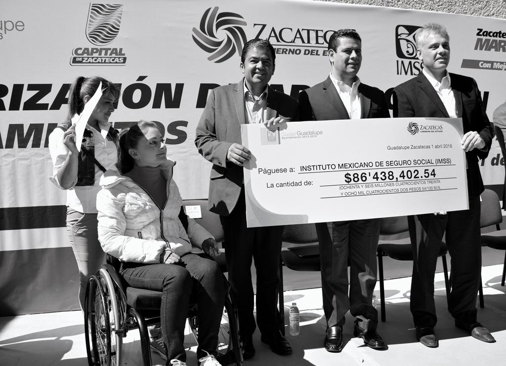 Concluyen adeudo histórico con IMSS los municipios de Zacatecas y Guadalupe