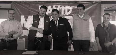 Se va Cuauhtémoc Calderón al proyecto de David Monreal