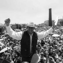 David… aguanta, el pueblo se levanta!, fue el clamor de miles de zacatecanos este día