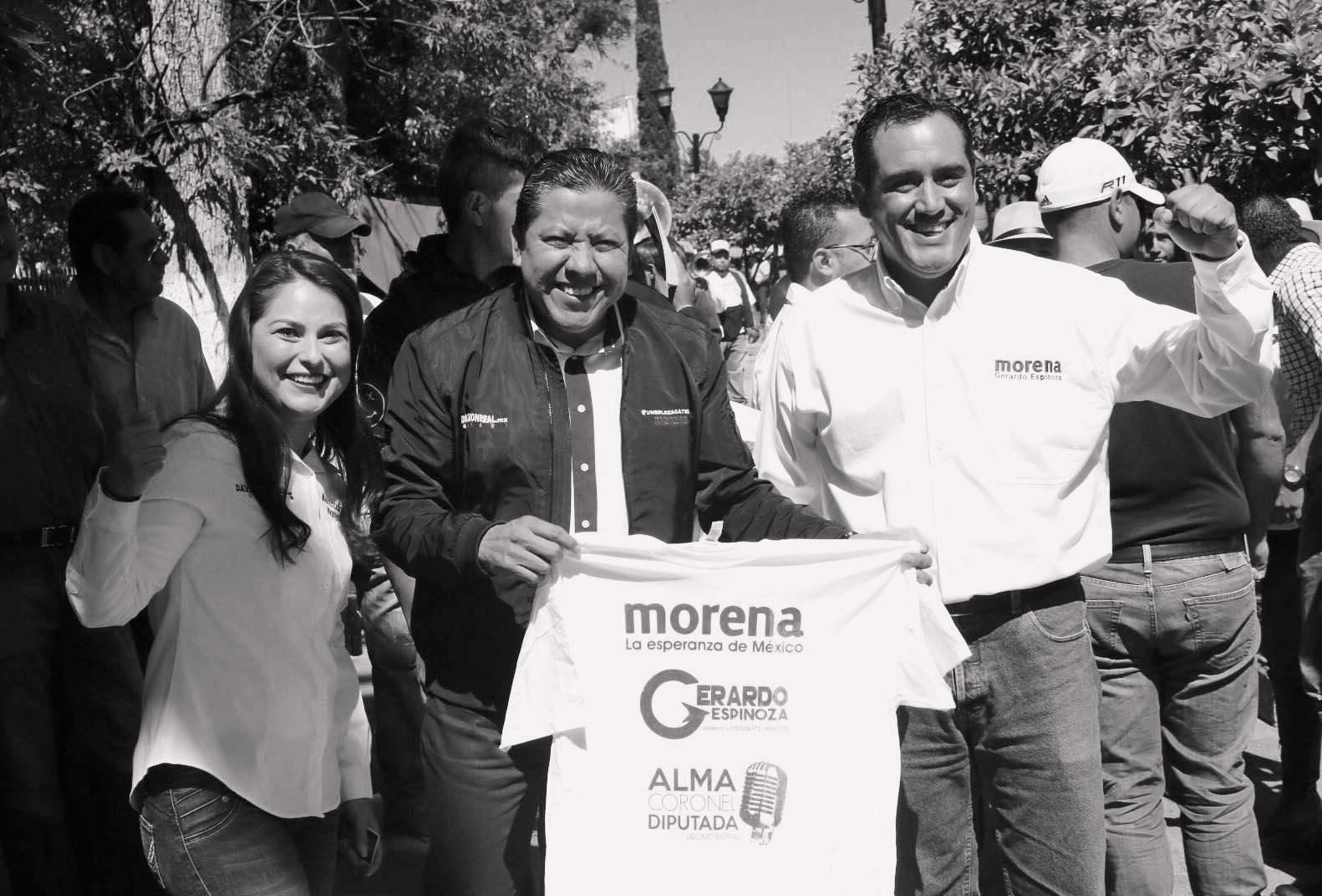 El triunfo de Morena en Zacatecas será la puerta para la democracia en el país