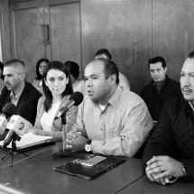 Desconocen locatarios del González Ortega a Rodolfo García Zamora