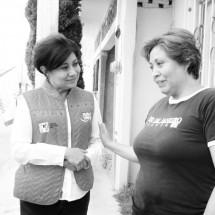 JUDIT, LUCÍA Y CARLOS, EN CAMPAÑAS DE CONTACTO DIRECTO, CONSTATAN REZAGO SOCIAL