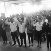Gestión y lucha social dan al candidato antorchista, Osvaldo Ávila, elementos de propuesta