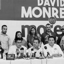 DIRIGENTES Y MILITANTES DEL PAN EN GUADALUPE DECLARAN SU APOYO PÚBLICO A DAVID MONREAL