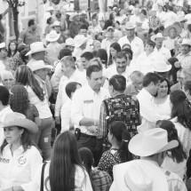 Evalúa Alejandro Tello primeros días de trabajo de campaña