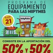 LANZA AYUNTAMIENTO CAPITALINO PROGRAMA DE EQUIPAMIENTO PARA PYMES