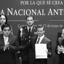 SALE PVEM A DEFENDER EL CRITICADO Y DÉBIL SISTEMA NACIONAL ANTICORRUPCIÓN