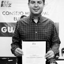 ENRIQUE FLORES YA ES ALCALDE ELECTO DE GUADALUPE