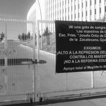 MAESTROS TOMAN CIUDAD ADMINISTRATIVA: NO A LA REFORMA EDUCATIVA