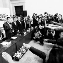 TOMAN PROTESTA AL OBSERVATORIO DE PARTICIPACIÓN POLÍTICA DE LAS MUJERES EN ZACATECAS