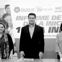 RECONOCE UNICEF ACCIONES EN FAVOR DE LA NIÑEZ ZACATECANA