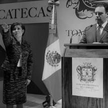 TOMA PROTESTA JUDIT; TELLO PIDE RECONCILIACIÓN SOCIAL