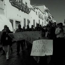 GOBIERNO IRÁ TRAS MANIFESTANTES QUE VIOLENTEN LA LEY