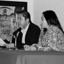 FLORES ZAVALA PRESENTA CONFERENCIA EN EL MUSEO DE GUADALUPE