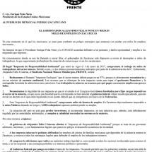MINEROS NO PAGARÁN QUEBRANTO NI CORRUPCIÓN DEL GOBIERNO