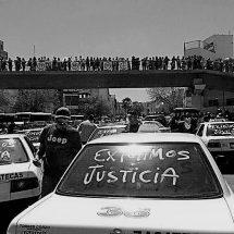 """BUSCAN FRENAR """"LEVANTONES"""" Y EJECUCIONES DE TAXISTAS"""