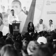 DESTINAN APOYOS SOCIALES A COLONIAS DE ZACATECAS