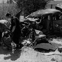 CHOCA UNIDAD DE LA POLICÍA ESTATAL Y DOS AUTOS MÁS: 9 HERIDOS