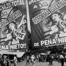 REINCORPORAN A MAESTROS CESADOS QUE PROTESTARON POR REFORMA EDUCATIVA