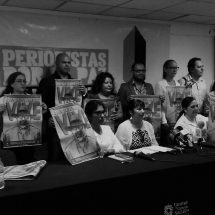 PERIODISTAS FORMAN COLECTIVO POR LA PAZ Y LA LIBERTAD DE EXPRESIÓN