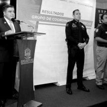 SECRETARIO DE SEGURIDAD OMITE HABLAR DE POLICÍAS DESAPARECIDOS EN INFORME