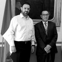 JOSÉ FCO. ROMÁN GUTIÉRREZ, ENCARGADO DE LA OFICINA UNESCO ZACATECAS