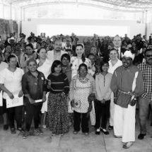 ENTREGAN 200 APOYOS A LA PRODUCTIVIDAD ARTESANAL Y 150 MÁS DE SALUD