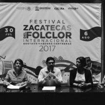 ACTUALIZAN EDICIÓN DEL FESTIVAL ZACATECAS DEL FOLCLOR INTERNACIONAL