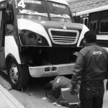 AUTORIDADES INMOVILIZAN 24 UNIDADES DEL TRANSPORTE URBANO