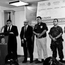 GOBIERNO DEL ESTADO HA DEBILITADO ACTUAR DE BANDAS DELINCUENCIALES