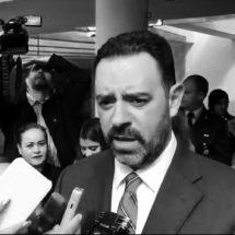 CONFIRMA EL GOBERNADOR  TELLO QUE A PARTIR DE HOY LIMITARÁ  SUS DECLARACIONES A LA PRENSA