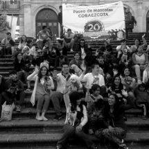 ESTUDIANTES CONMEMORAN 20 ANIVERSARIO DEL PLANTEL ROBERTO CABRAL CON PASEO CON MASCOTAS PARA PROMOVER EL RESPETO A LA VIDA