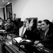 EXHORTAN AL GOBERNADOR DESIGNAR YA ÓRGANOS INTERNOS DE CONTROL DE DEPENDENCIAS