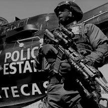 DESENPOLVAN EL HELICÓPTERO DE SEGURIDAD PARA INTENTAR CONTENER LA VIOLENCIA