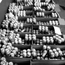 PRETENDÍAN METER MIL 732 CHELAS, 2 KILOS DE MOTA Y 215 DOSIS DE COCA AL PENAL DE CIENEGUILLAS