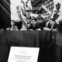 DIPUTADOS CUESTIONAN A MIRANDA EL PAQUETE ECONÓMICO 2017