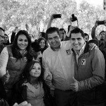 NORMA, CARLOS, ROBERTO Y CLAUDIA, CON MIRAS A LAS FEDERALES