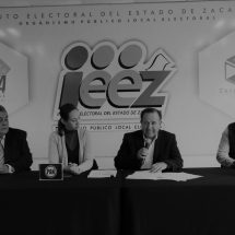 """POR ZACATECAS AL FRENTE"", CONFORMADO POR PRD-PAN-MC, SOLICITA REGISTRO ANTE IEEZ"