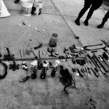 ASEGURAN BOMBAS MOLOTOV Y ARMAS BLANCAS EN PENAL DE CIENEGUILLAS