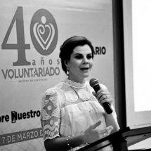 CELEBRA VOLUNTARIADO 40 AÑOS DE SERVICIO