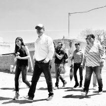 SUPERVISA ENRIQUE GUADALUPE FLORES AVANCES DE OBRAS EN COMUNIDADES