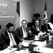 SEIS EMPRESAS, CON FIRME INTERÉS DE INVERTIR EN ZACATECAS