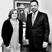 ACUERDAN GOBERNADOR TELLO Y TITULAR DE LA SFP TRABAJO CONJUNTO PARA FORTALECER LA TRANSPARENCIA EN ZACATECAS