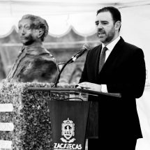LOS ZACATECANOS ESTAMOS ORGULLOSOS DE RAMÓN LÓPEZ VELARDE: GOBERNADOR TELLO