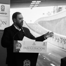 INAUGURA GOBERNADOR DISTRIBUIDOR VIAL DE AVENIDAS PEDRO CORONEL Y MÉXICO
