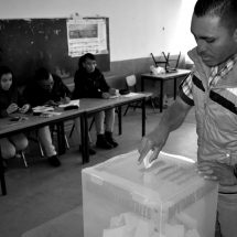 TRANQUILA, PERO DESAIRADA, LA ELECCIÓN DE AUTORIDADES AUXILIARES EN TRANCOSO